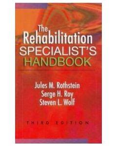 The Rehabilitation Specialist's Handbook