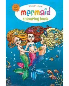 Mermaid Colouring Book (Giant Book Series) : Jumbo Sized Colouring Books