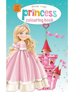 Princess Colouring Book (Giant Book Series) : Jumbo Sized Colouring Books