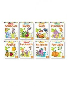 Little Artist Copy Colouring pack: Set of 8 books