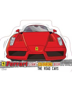 Ferrari The Road Cars: Giant Colouring Book In The Shape Of A Ferrari Car