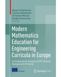 Modern Mathematics Education for Engineering Curricula in Europe  ebook