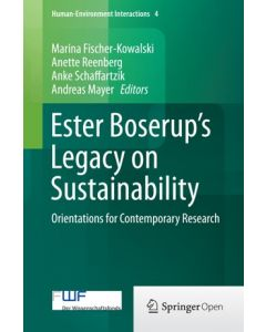 Ester Boserup's Legacy on Sustainability ebook